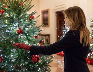White House Christmas Ornament 2019.First Lady Unveils White House Christmas Decorations Fox 5