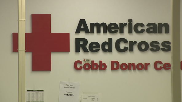 Red Cross need Georgians to help with 'severe' blood shortage