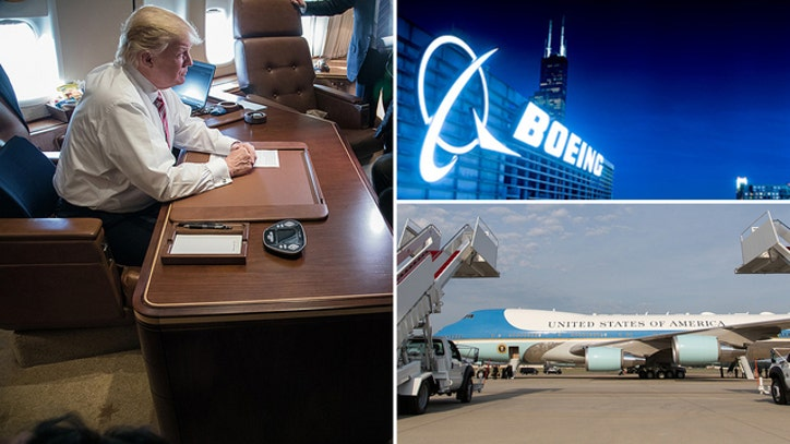 Trump Working On 3 9b Air Force One Plane Deal With