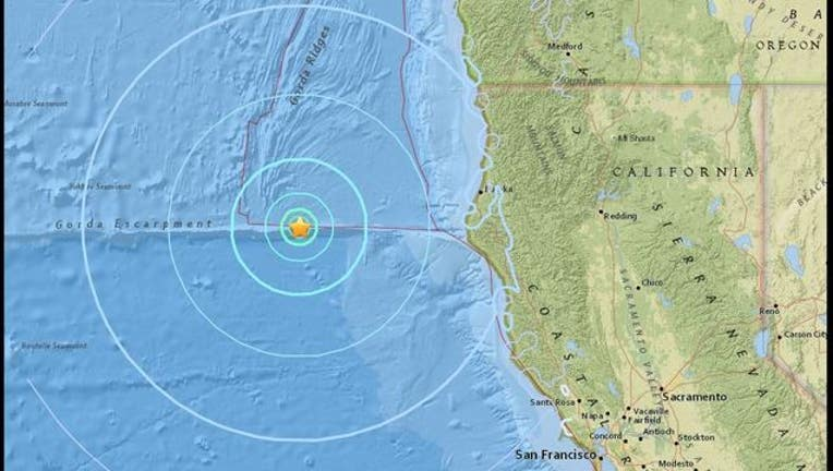 USGS - 5.7 magnitude earthquake in ocean off California coast-407068.jpg