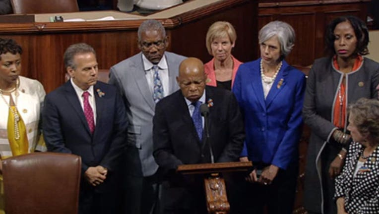 House Democrats Hold 'Sit In' Over Gun Control-402970