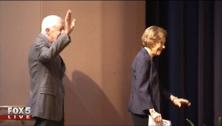 Former President Jimmy Carter and former First Lady Rosalynn Carter 5