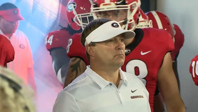 Kirby Smart Georgia Bulldogs UGA