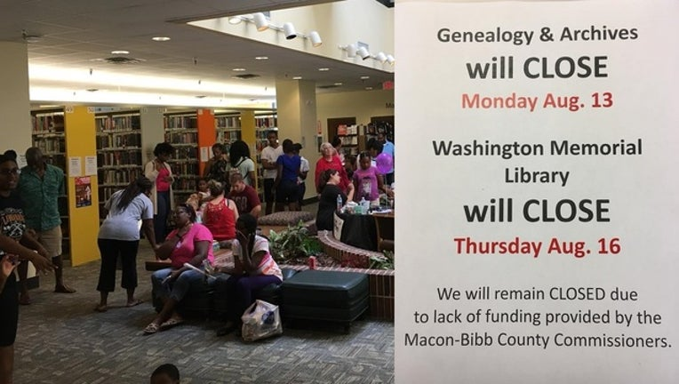Last library in Georgia county to close over funding issues