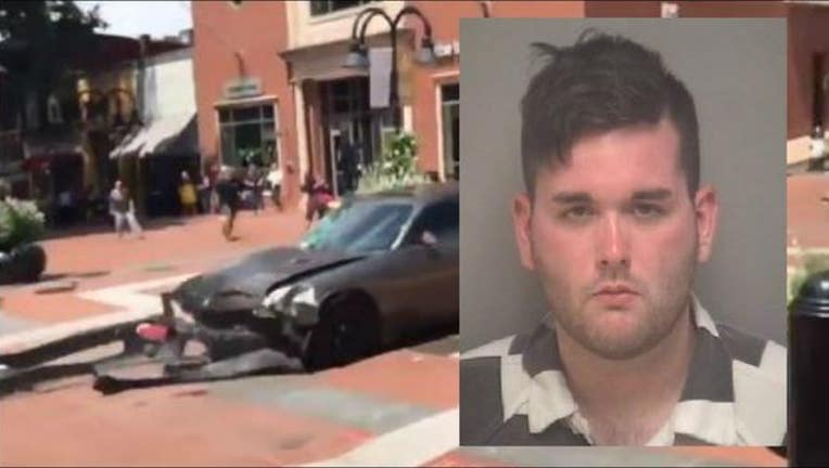 James Fields and the car he allegedly drove into protesters at a white nationalist rally-404023