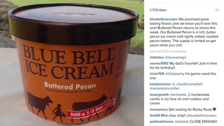 Buttered Pecan Blue Bell-409650