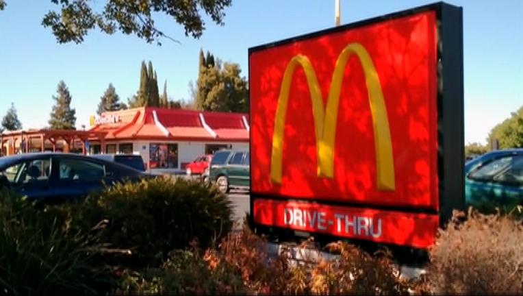 Alleged assault at Calif. McDonald's over refund