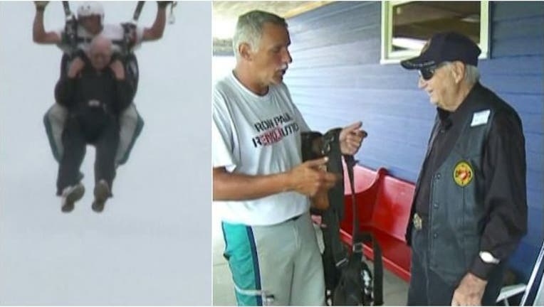 d4e7fbde-90-year-old man skydives in Wis.