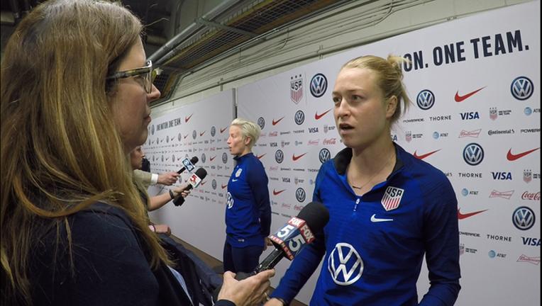 Marietta woman on US World Cup team
