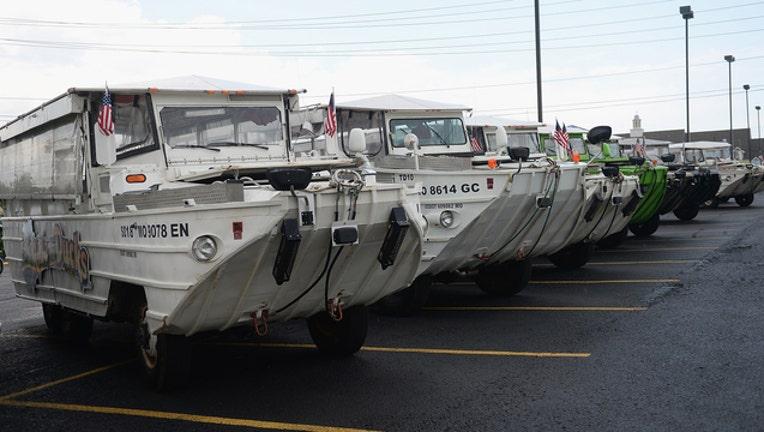 GETTY Branson Missouri Duck Boat 110518-408200