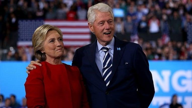 GETTY Hillary and Bill Clinton-401096