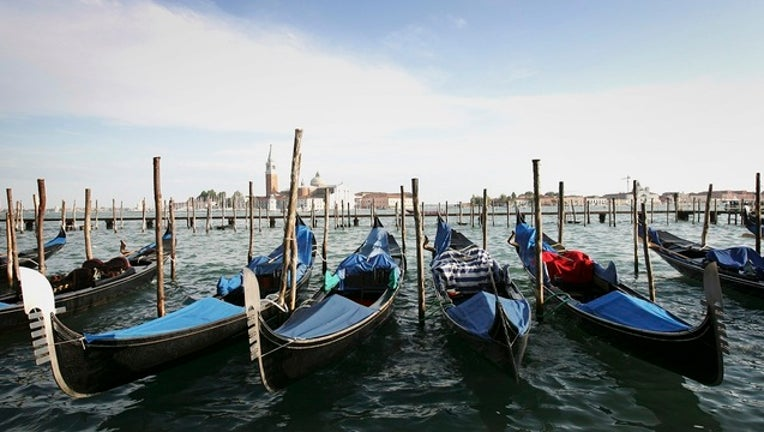 GETTY_VENICE ITALY GONDOLAS-402429