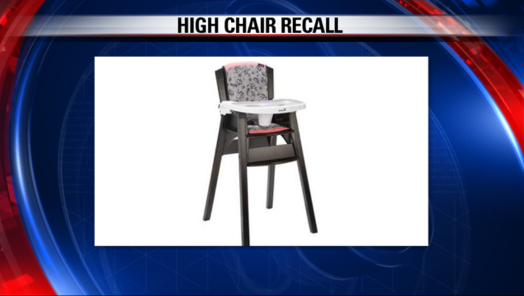 Safety 1st High Chair Recall
