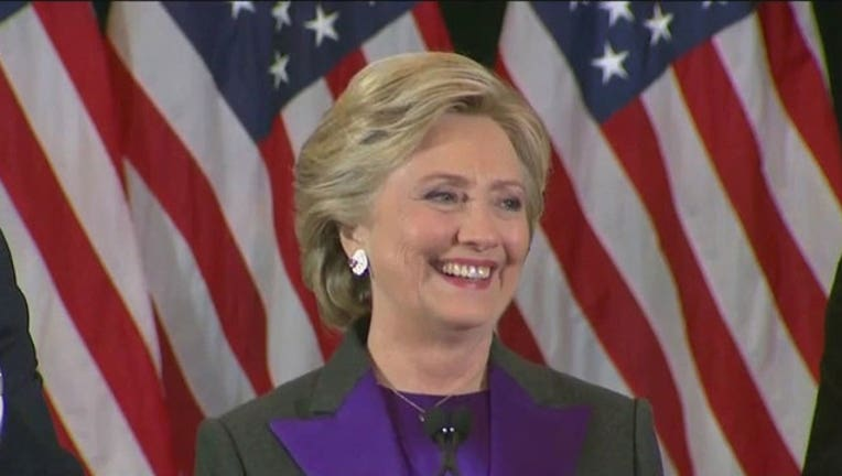 Hillary Clinton Concession Speech-402970