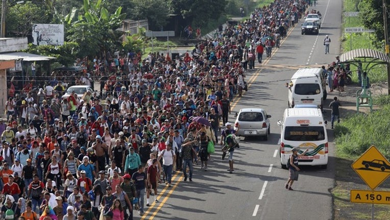 GETTY Migrant caravan-401720