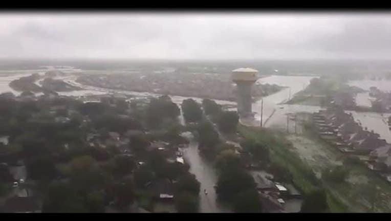 US Coast Guard photo of devastation in Houston area-404023