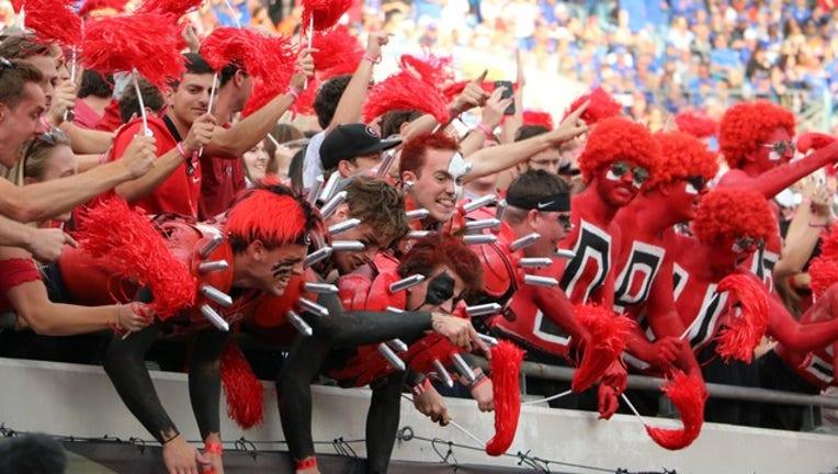 UGA football fans Georgia