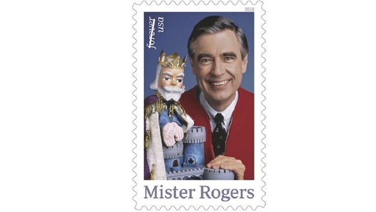 Mister Rogers Stamp-401096