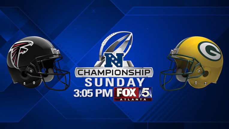 NFC Championship Sunday 3pm on FOX 5 Atlanta_1484629465744.png