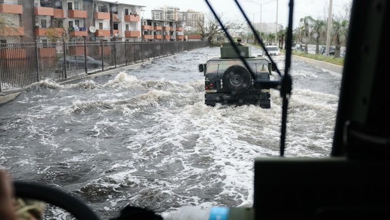 Flooding in Puerto Rico after Hurricane Maria-404023
