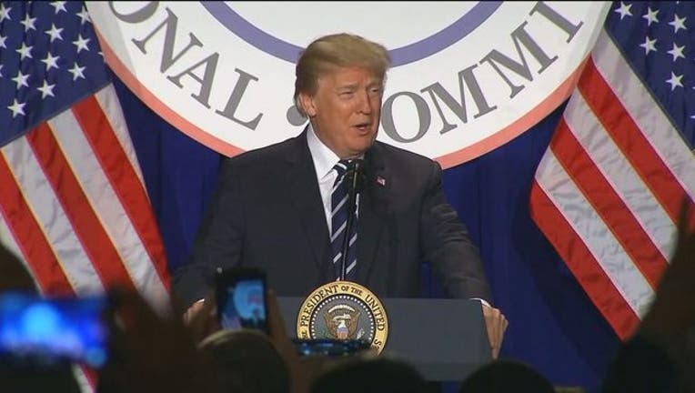 President Donald Trump 031318-401720