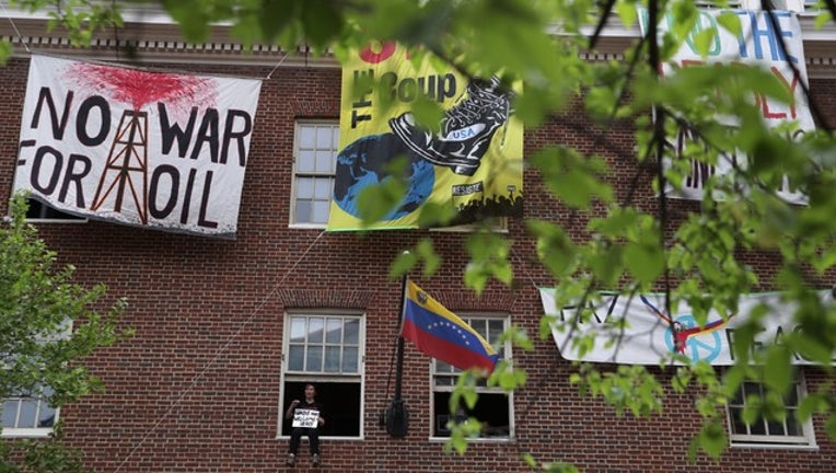 Venezuelan Embassy Protests - GETTY-401720