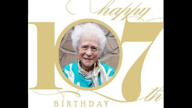 Fayetteville woman turns 107 years old
