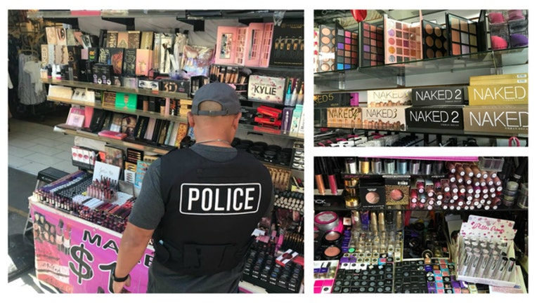 LAPD cosmetics bust - fake makeup-404023