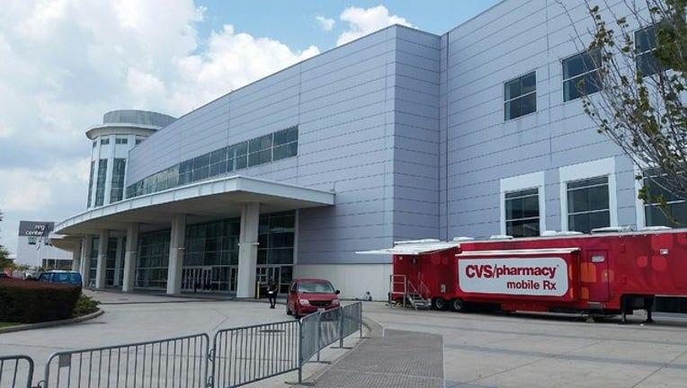 CVS opens mobile pharmacy at NRG Center Houston-408795