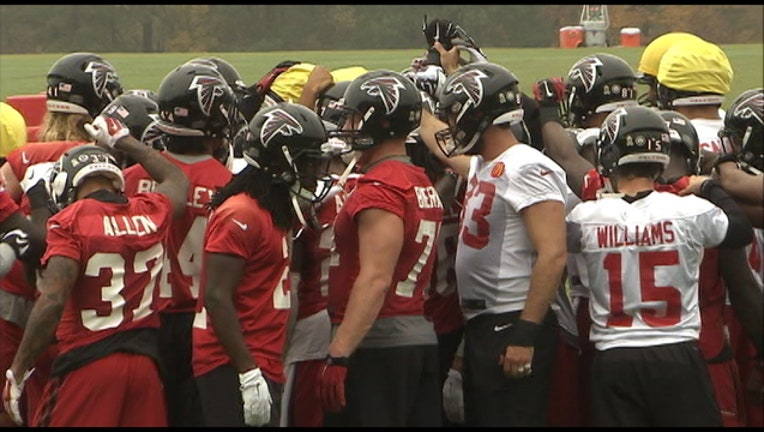 36105782-Atlanta Falcons practice