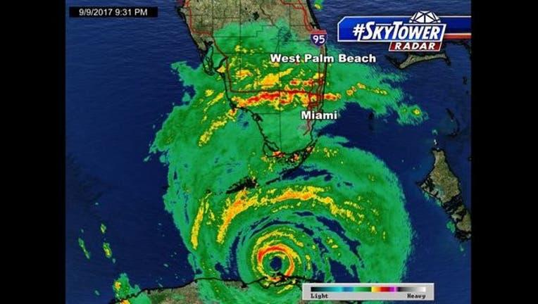 1faf531a-First Hurricane Irma hurricane-force wind gust Florida Keys-402429