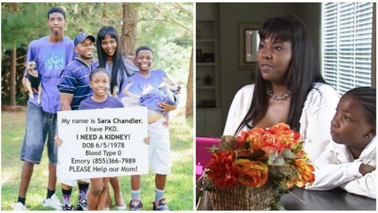 Lawrenceville mom in need of kidney donor