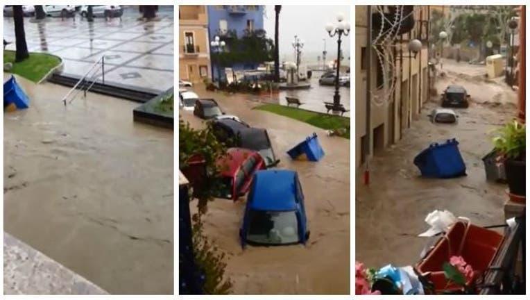 Sicily Flash Flood 090915