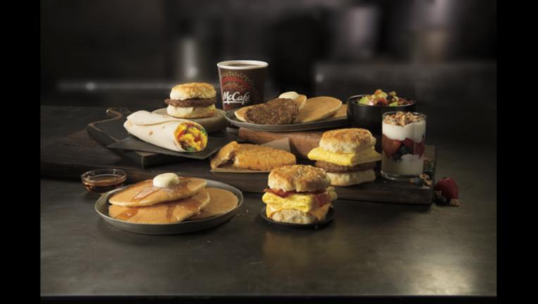 McDonald's All Day Breakfast