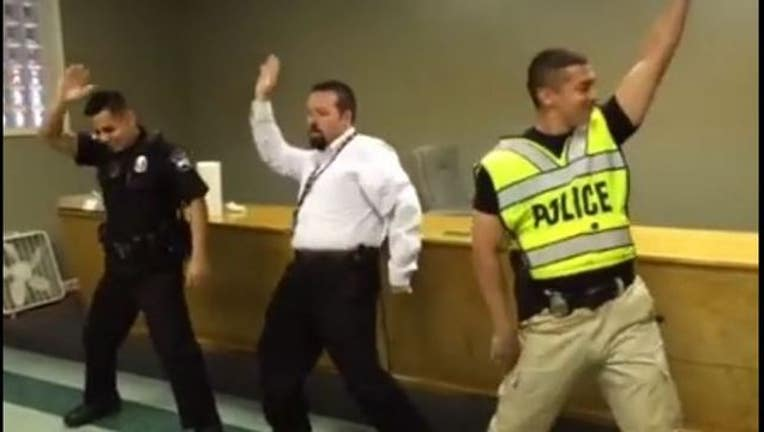 Adairsville police whip and nae nae
