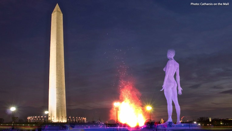 Catharsis on the Mall planning to have 45-foot-tall nude statue on Washington Mall for months-401720