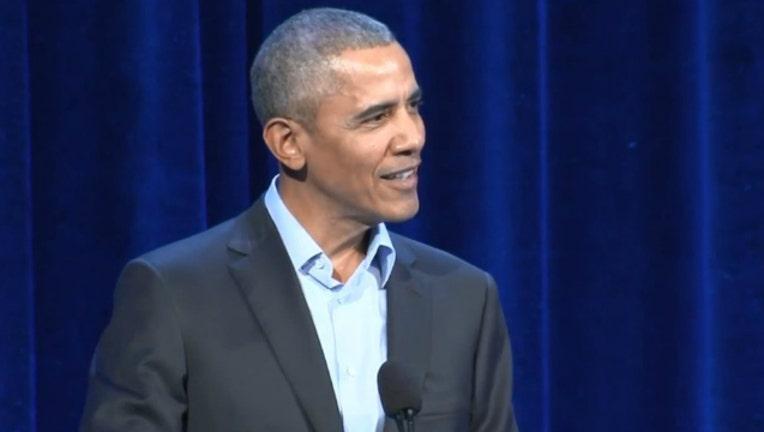 Obama in Chicago-404023