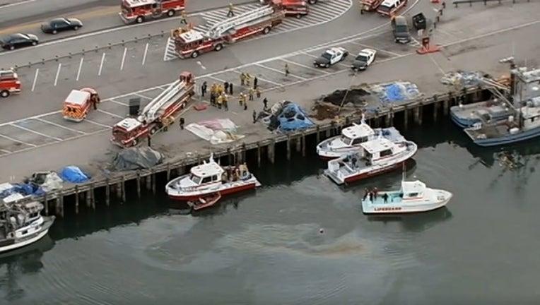 submerged car in san pedro_040918_FOX 11-407068