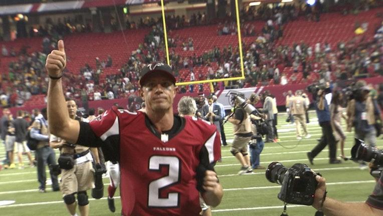Matt Ryan Falcons Win
