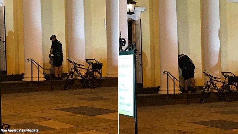 Secret Service helps homeless man-401720