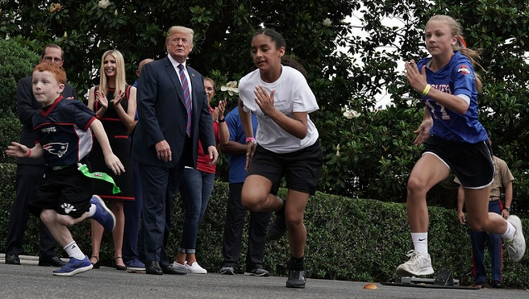 Trump Sports and Fitness Day (GETTY IMAGES)-401720