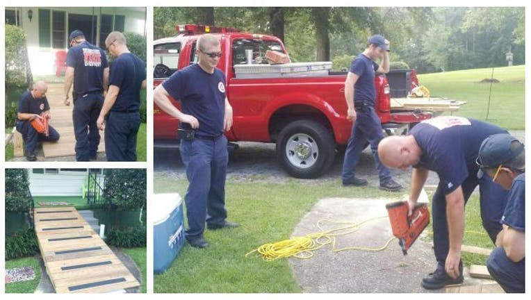 16312b66-Firefighters build elderly woman ramp
