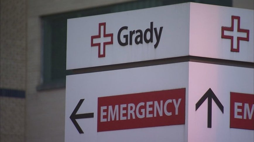 Grady Memorial Hospital will start to accept some emergency patients again Friday