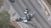 Police: DeKalb County officer injured in chase, crash