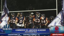 Commerce vs Lakeview Academy