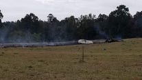 Pilot unharmed after airplane crashes during Atlanta Air Show