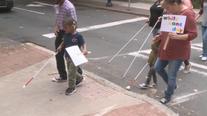 White Cane Awareness Day in Midtown Atlanta