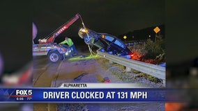 Driver clocked at 131 mph on Georgia highway
