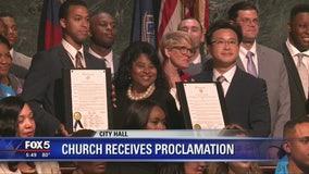 Atlanta honors church