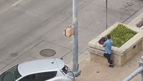 Rush hour fight in Downtown Austin ends with scooter in a car